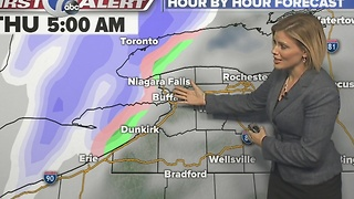 Autumns 7 First Alert Forecast for  Decmeber 27th 7 Eyewitness News at Noon - Video