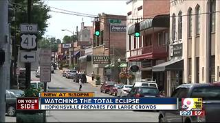 Hopkinsville, Ky., braces for huge eclipse crowd - Video
