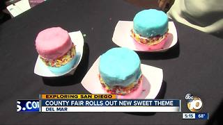 County fair rolls out new sweet theme - Video