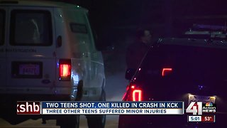 Teen found shot to death Sunday morning in KCK
