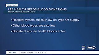 Lee Health needs blood donations