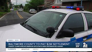 Baltimore County to pay $2M settlement