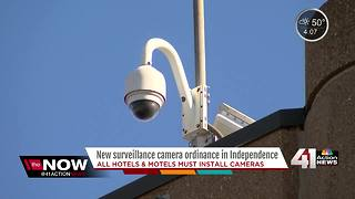 Independence ordinance requires all hotels, motels to install surveillance cameras - Video