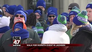 Walk for Warmth event happening today in Jackson