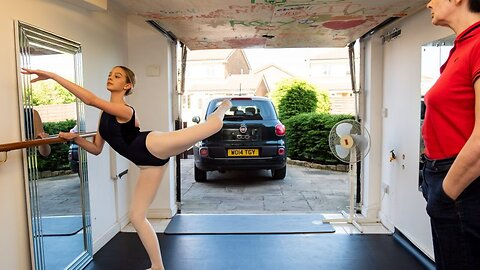 Diy Skills En Pointe! Savvy Single Mum Converts Garage Into Incredible Ballet Studio For Cancer-surviving Daughter With Dream To Become Professional Dancer