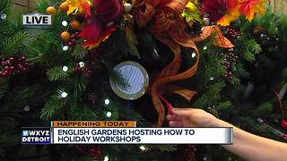 English Gardens Host DIY Workshops - Video