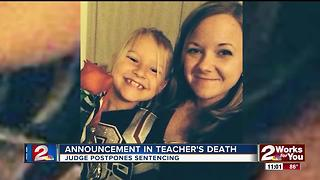 Judge postpones sentencing for suspect responsible for teacher's death - Video