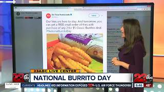 National Burrito Day Deals - Video
