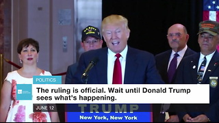 Appeals Court Again Refuses To Let Trump Implement Travel Ban - Video