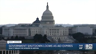What would a government shutdown mean for Arizonans?