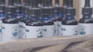 New York-Based CBD Festival Selling Products & Food - Video