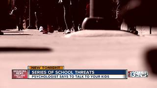 High-profile school threats, what may be driving them - Video
