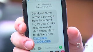DWYM: Mystery Package Delivery Text
