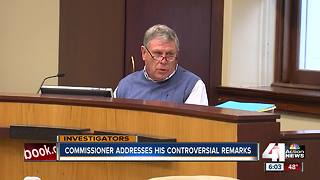 Commissioner calls his comments 'disappointing' - Video