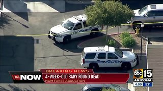 Infant reportedly abducted from Chandler park found dead in mother's apartment