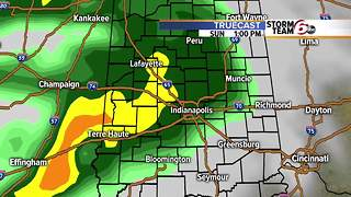 Weekend forecast includes rain. - Video