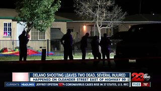 Delano Shooting leaves two dead and several injured off of Oleander St.