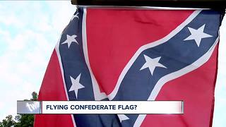 Why some people fly the confederate flag in WNY - Video