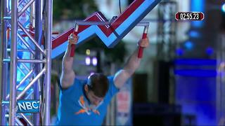 Suamico man comes up short in American Ninja Warrior - Video