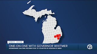 Governor Whitmer says more vaccine is coming to Michigan