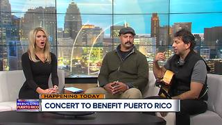 Concert to Benefit Relief Efforts in Puerto Rico - Video