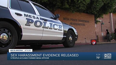New documents detail Mesa officer's sexual harassment