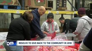 Making a New Year Resolution of volunteering - Video