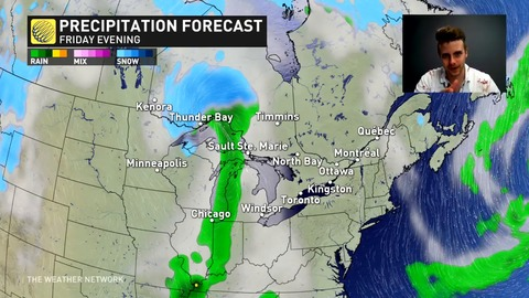 Temperatures fall back to reality, couple systems to watch Ontario