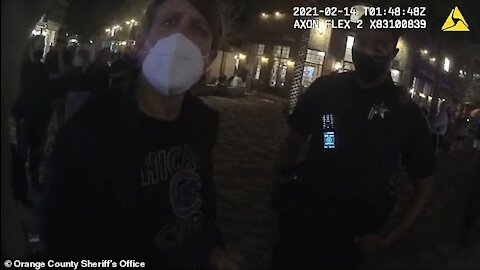 Disney Strikes Again! Man Arrested For Non-Compliance!