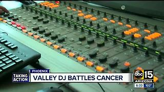 Valley traffic anchor battling brain cancer - Video