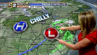 Maryland's Most Accurate Forecast - Rain Moving In - Video