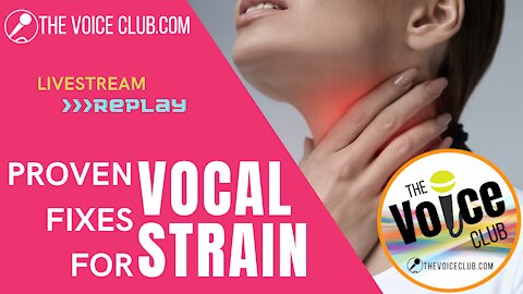 Vocal Strain Stoppers