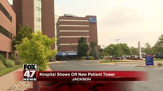 Henry Ford Allegiance Hospital shows off new Patient Tower - Video