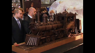 World's Longest Chocolate Train - Video