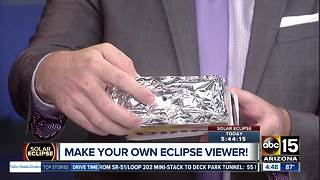 Make your own solar eclipse viewer - Video