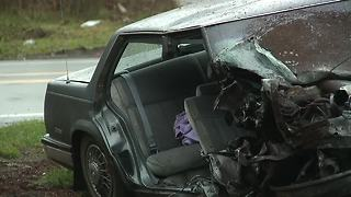 Wadsworth police investigating serious crash after chase - Video