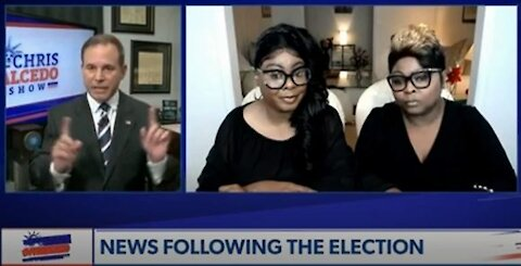 DIAMOND AND SILK ON CHRIS SALCEDO SHOW