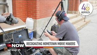 Recognizing hometown movie makers - Video