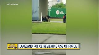 Video shows Lakeland officers kick, punch person