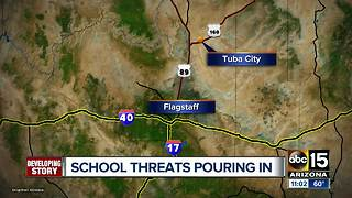School threats pour in to Arizona districts - Video