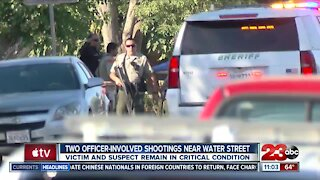 Two officer involved shootings in Northeast Bakersfield on Wednesday afternoon