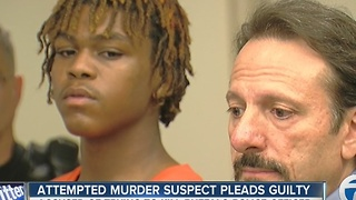 Attempted murder suspect pleads guilty - Video