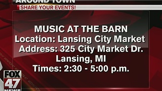 Live music at Lansing City Market - Video