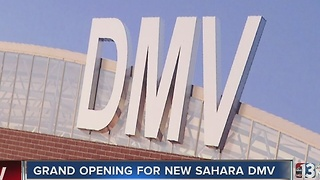 Grand opening for new Sahara DMV office - Video