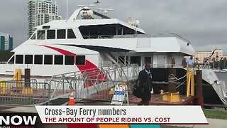 Cross-Bay ferry numbers - Video