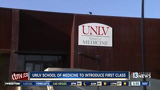 UNLV welcomes first class of medical students - Video