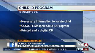 Child ID program comes to Charlotte County - Video