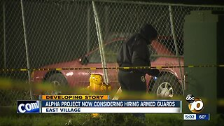 Alpha Project now considering hiring armed security guards