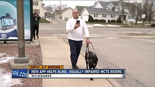 New app helps bling, visually impaired MCTS riders