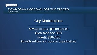 Punta Gorda Downtown Hoedown to benefit 'Holiday 4 Heroes'